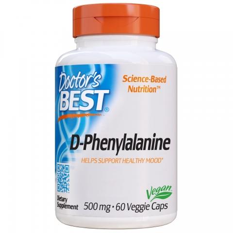 Doctor's Best - D-Fenylalanine