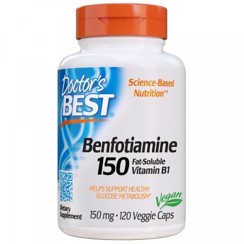Doctor's Best - Benfotiamine - Benfopure®