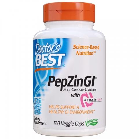Doctor's Best - Zink-L-Carnosine - PepZinGI™