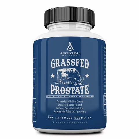 Ancestral Supplements - Grassfed Prostaat extract - 180 capsules