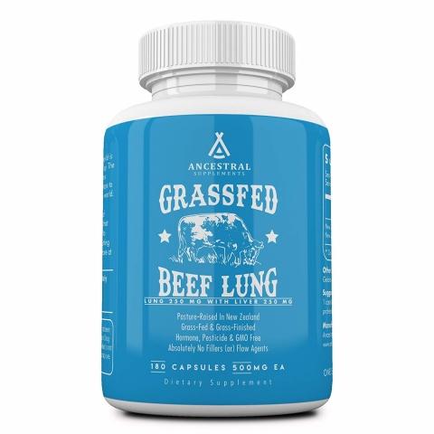 Ancestral Supplements - Runderlong - grasgevoerd - 180 capsules