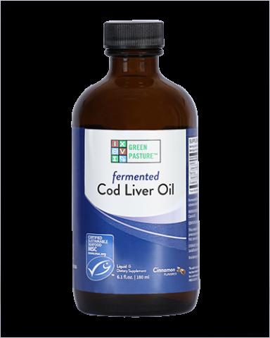 Green Pasture - Vloeibare Gefermenteerde Levertraan - Kaneel - 180 ml