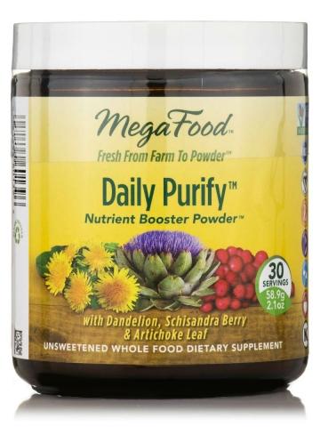 MegaFood - Daily Purify - Detox Poeder Formulering - 59 gram