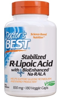R-alfa liponzuur met BioEnhanced® Na-RALA