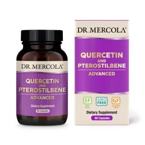 Quercetine en Pterostilbeen geavanceerd