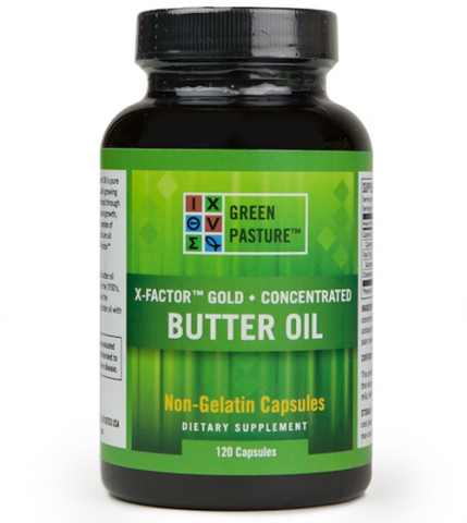 Green Pasture - High Vitamin Boterolie - X-Factor gold - capsules - 120 capsules