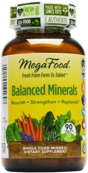 MegaFood - Balanced Minerals - Natuurlijke Mineralen Complex - 90 tabletten