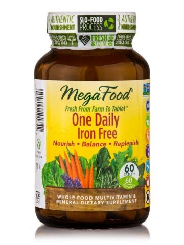 One Daily ( zonder ijzer) - Natuurlijke Multivitaminen - 60 tabletten