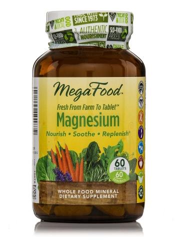 MegaFood - Natuurlijke Magnesium  - 60 tabletten
