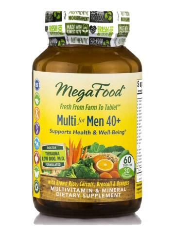 Megafood - Natuurlijke Multivitaminen voor mannen 40+