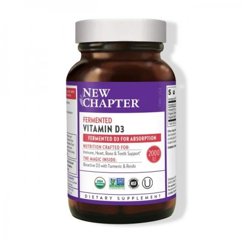 Gefermenteerde Vitamine D3 - 60 tabletten