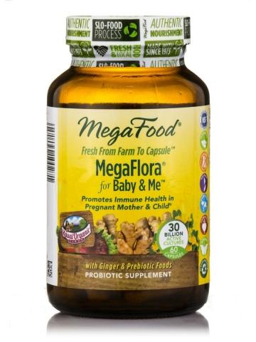 Probiotica - Megaflora for Baby and Me - 30 miljard units