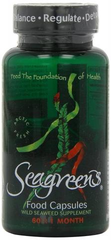 Seagreens - Biologische Zeewierextract  - 60 vegetarische capsules