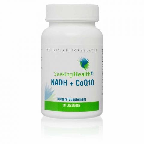 Seeking Health - NADH + CoQ10 - 30 Zuigtabletten
