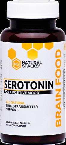 Natural Stacks - Serotonine - 60 vegetarische capsules