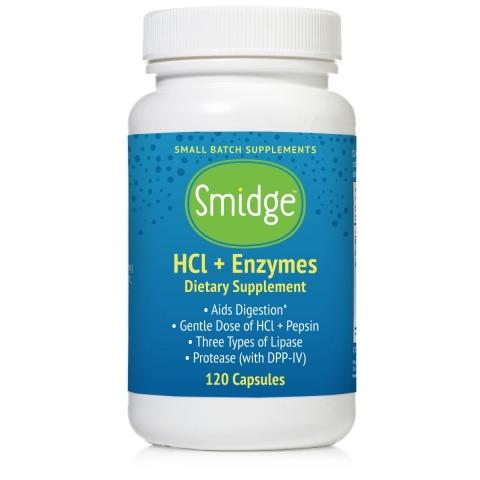 HCl + Enzymen - Smidge™ (voorheen GutZyme™ HCl)