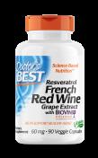Doctor's Best - Resveratrol & Rode Wijn Extract - ResVinol-25®