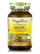 MegaFood - Baby & Me - Natuurlijke Zwangerschapsvitaminen Kruidenvrij - 120 tabletten