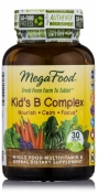 MegaFood - Kid's B Complex - Natuurlijke vitamine B Complex - 30 tabletten
