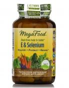 MegaFood - Natuurlijke Vitamine E & Selenium - 30 tabletten