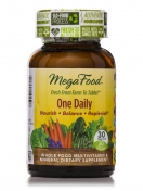 MegaFood - One Daily - Natuurlijke Multivitaminen - 30 tabletten
