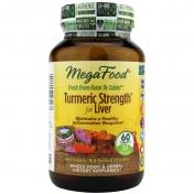 MegaFood - Turmeric Strength - Lever Formulering - 60 tabletten