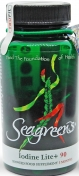 Seagreens - Biologische Zeewierextract + Jodium - 60 vegetarische capsules
