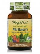 MegaFood - Wild Blueberry - Bosbes - 60 kauwtabletten