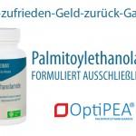Nicht-zufrieden-Geld-zurück-Garantie Palmitoylethanolamid (PEA) - OptiPEA®