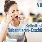 Selbsttests für Nebennieren-Erschöpfung