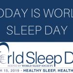 Weltschlaftag 2019: Gesund schlafen, gesund älter werden