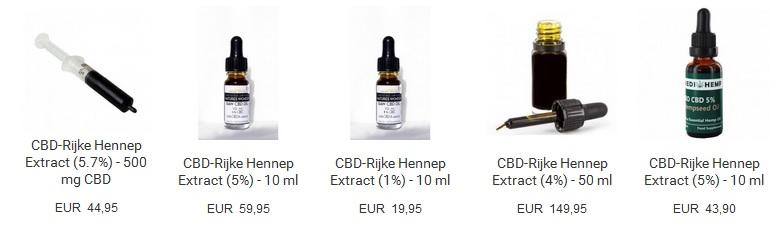 Bekijk alle CBD producten