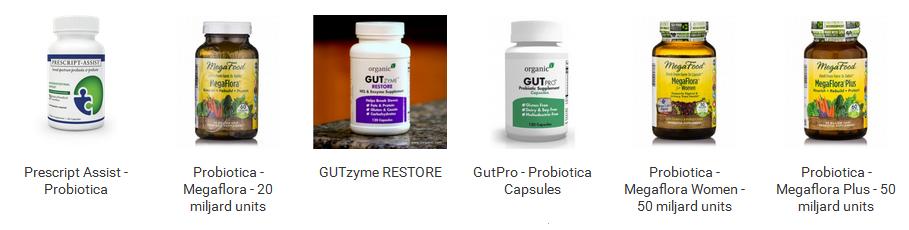 Bekijk de probiotica selectie