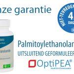 Niet-tevreden-geld-terug garantie Palmitoylethanolamide (PEA) - OptiPEA®