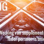 Werking van supplementen - ieder persoon is uniek