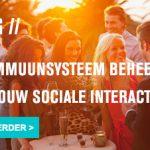 Het immuunsysteem beheert ook jouw sociale interacties